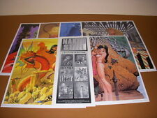Naked Steel Comic Art Portfolio by Steve Fastner and Richard Larson, 1993!