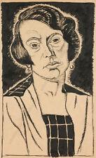 """Female Portrait"" by Erwin Stolz, 1926"