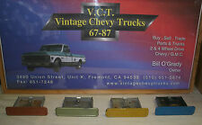 1972 1971 CHEVY GMC TRUCK ASHTRAY C10 SUBURBAN BLAZER CST CHEYENNE SUPER 71 72