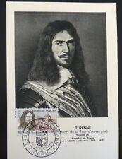 FRANCE PREMIER JOUR FDC YVERT 1258    TURENNE    0,20+0,10F    PARIS    1960