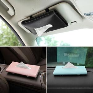 Car Sun Visor Tissue Box Holder Interior Towel Storage Decor for BMW Accessories