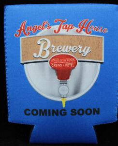 Angel of the Wings Casino Beer Bottle Koozie Washington Angels Tap House