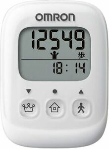 Omron HJ-325-W Walking Style Pedometer from Japan