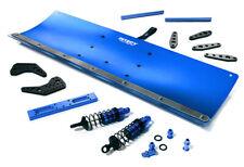 Integy RC Model C28556BLUE Alloy Machined 400mm Snowplow Kit for Traxxas TRX-4