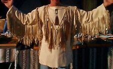 Custom Made Authentic Tan Buckskin WAR Shirt Cherokee Indian Joni Struckmeier