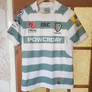 London Irish 2012-2013 Alternative Away Shirt Jersey Rugby Union Small