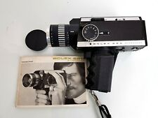 VINTAGE BOLEX 280 MACROZOOM SUPER 8 CINE CAMERA WITH INSTRUCTION MANUAL