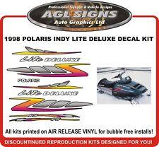 1998 POLARIS INDY LITE DELUXE 340  HOOD DECALS   graphics shroud