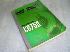Honda CB 750 Four Reparaturanleitung Shop Manual