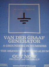 Van Der Graaf Generator-A GROUNDING IN NUMBERS-UK PROMO POSTER-NEW.