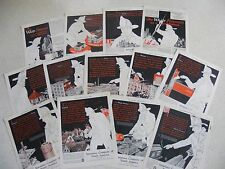 12 ADS INSURANCE COMPANY NORTH AMERICA WHITE FIREMAN PHILADELPHIA 1920s / 30s