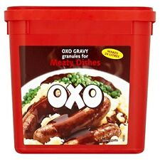 2 x OXO Gravy Granules for Meaty Dishes -1.58kg Catering Pack