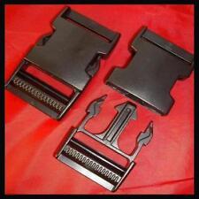 XL 40mm DELRIN Clip Cinghia BAGAGLI CINTURA Plastica Snap, fare clic su fibbia di fissaggio chiusura