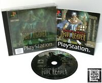 Soul Reaver: Legacy of Kain ~ PlayStation PS1 Lenticular Version *Excellent CIB*