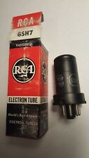 Vintage RCA 6SH7 Full Sleeve Vacuum Tube *New Old Stock* Money Back Guarantee!
