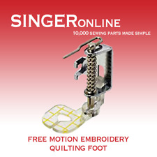 Free Motion Quilting Embroidery Foot