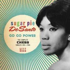 SUGAR PIE DESANTO Go Go Power NEW & SEALED NORTHERN SOUL 60s SOUL CD (KENT) MOD