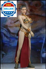 1/6 Princess Leia Organa Star Wars Slave Outfit Set For PHICEN Hot Toys ❶USA❶
