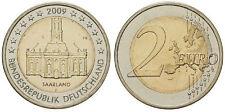 "MONETA UE 2 EURO COMMEMORATIVO 2009 GERMANIA "" SAARLAND """
