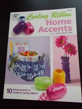 Curling Ribbon Home Accents Crochet Leaflet Annie's Attic - 10 designs