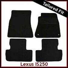 Lexus IS 200 220 250 Mk2 2005-2013 Fully Tailored Carpet Car Floor Mats BLACK