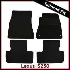 Lexus IS 200 220 250 Mk2 2005-2013 Fully Tailored Carpet Car Floor Mats BLACK