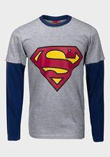 Boys Star Wars Cargo Bay Superheroes Long/short Sleeve T-shirts 18 Mths - 14 Superman Grey 5 Years