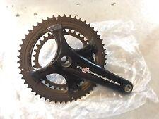 Campagnolo Record pedaliera in 172.5 Semi compatto 50/34 11 velocità ultratorque £ 485.99