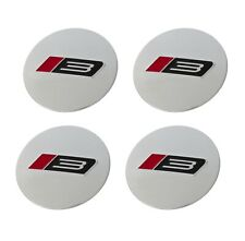 1994 2021 Ford Mustang 25 Roush Rs3 Silver Wheel Center Cap Inserts Set Of 4