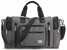 Kenox Large Trim Travel Tote Duffel Shoulder Handbag Weekender Bag #2FX