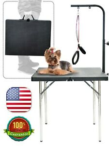 32'' Portable & Space saving Pet Dog Grooming Table Foldable & Professional