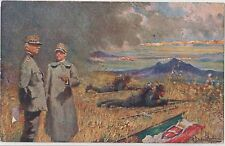 ITALY1916 COMMEMORATIVE CARD EDITED UNDER  CENTRAL COUNCIL OF THE DANTE ALIGHERI