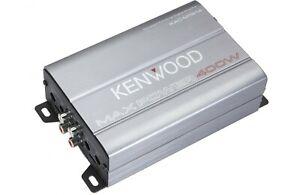 Kenwood Marine 4-Channel Compact Amplifier KAC-M1814 Class-D 400 Max Digital Amp