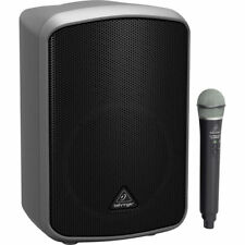 NEW Behringer MPA200BT Portable Bluetooth PA 200W Speaker System w/ Wireless Mic