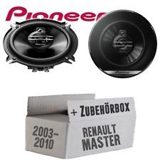 Pioneer Lautsprecher für Renault Master 2 3-Wege 130mm 250W Auto Boxen Einbauset