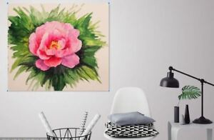 Beautiful & Colorful peonies Canvas collection Home decor wall print art