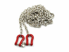 1/10 Alloy Hook with Chain RC Rock Crawler Accessory For Axial SCX10 RC4WD 80126