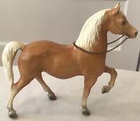 Vintage Breyer Traditional CHEYENNE #112 Western Prancing Palomino Horse 1963-85