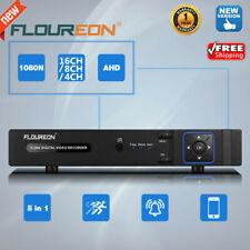 16CH/8/4CH 1080N Security CCTV AHD TVI CVI DVR NVR 5-IN-1 Hybrid Video Recorder