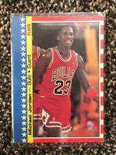 New listing 1987 Fleer Sticker Michael Jordan Card 2 of 11. Great condition- chicago bulls