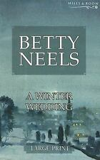 Winter Wedding (Betty Neels Large Print)-ExLibrary