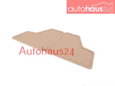 MERCEDES-BENZ W164 X164 ML GL CLASS 3RD ROW ALL SEASON RUBBER FLOOR MAT BEIGE