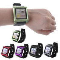 Smart Aluminum Metal Watch Band Wrist Kit Cover Case For Apple iPod Nano 6 6th