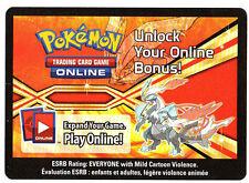 x1 Pokemon Unused Code ONLINE REWARDS TCG White Kyurem - C02
