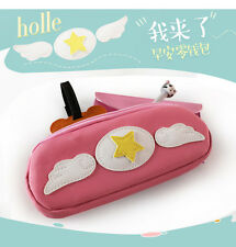 Anime Card Captor Sakura Kinomoto Sakura Coin Bag Pen Holder Purse Wallet New