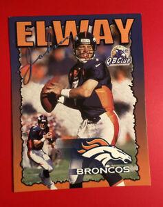 JOHN ELWAY DENVER BRONCOS Quarterback QB Club School Folder Vtg NFL HOF