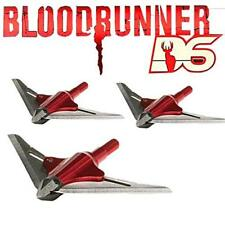 8917 NAP New Archery Products Bloodrunner 100 Grain 2Bl DEEP 6 Broadheads 3 Pack