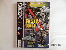 MOTO LEGENDE N°133 03/2003 GUZZI V7 SPORT SCOOTER VESPA SUZUKI 3 Cylindres  I15