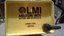 "LMI Milton Roy Liquid Level Switch NEW Condition!   33""  35 gallon"