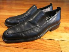 Men's 11 D Cole Haan Black Leather Apron Toe Loafers Driving Moc Air